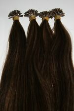 "I-Tip Extensions For Micro Links 18"" European Remy Human Hair 100 Strand #2"