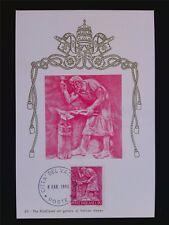 Vatican MK 1966 professioni fabbro Smith Maximum carta carte MAXIMUM CARD MC cm c6251