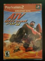 ATV Offroad Fury Sony PlayStation 2 WITH CASE & MANUAL BUY 2 GET 1 FREE