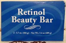Retinol Body Soap/Beauty Bar Vitamin A 2 Bars 3.5oz Each Bar