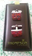 "Season Autumn"" in Box Thompson London New Cufflinks ""Happy"