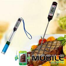 New Digital Cooking Food Probe Meat Kitchen BBQ Selectable Thermometer