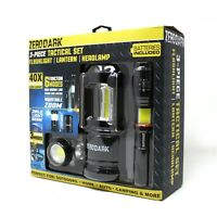 ZeroDark LED Tactical Headlamp High Lumens for Hickling Hardhat Head Lamp