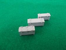 Set of 3 Ships Lockers in 1/48 Scale. Model Boat Fittings.
