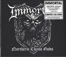 IMMORTAL / NOTHERN CHAOS GODS - LIMITED DIGIPAK EDITION * NEW CD 2018 * NEU *