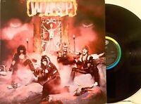 W.A.S.P. – (WASP) Self Titled 1984 Vinyl Capitol Orig  ST-12343 EX w/ Insert