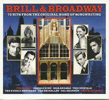 BRILL & BROADWAY - 3 CD BOX SET - CAROLE KING, DEL SHANNON & MORE