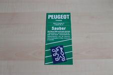 94920) Peugeot 205 Cabrio 405 309 605 - Preise & Extras - Prospekt 11/1991