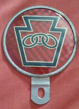 043 Classic Vintage Car Red Reflector PA Keystone State VW Porsche Chevy Hot Rod