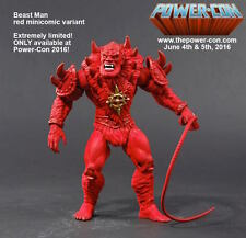 Red mini cómic Beast Man Power con Exclusive motu! eh Man masters Classics nuevo