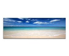 150x50cm Wandbild Panorama Strand Meer blauer Himmel Thailand Beach Sinus Art