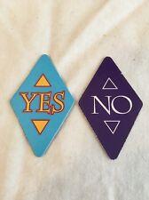 Vintage 1992 Milton Bradley Ask Zandar Board Game 2x Yes/No Only Fortune Telling