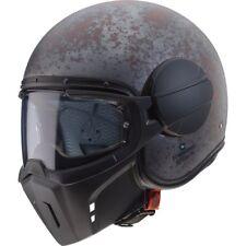 Casco Jet in Fibra Caberg Ghost Maschera removibile Motorcycle Scooter Helmet