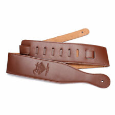 New Adjustable Soft Leather Thick Strap Belt For Electric Acoustic Guitar Bass