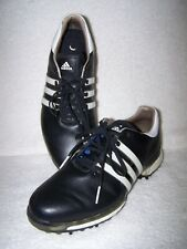 New listing ADIDAS BOOST ENDLESS ENERGY MEN'S GOLF SHOES Black Leather Sz 10 / 44