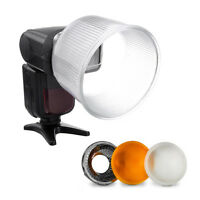 New Cloud Lambency Flash Diffuser Reflector with White Dome Cover Tools