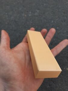 Ivory Paper Micarta Knife Handle Block -Mitch Made