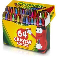 Crayola Crayons 64 count box with built in sharpener