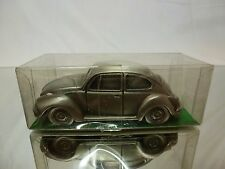 TIN METAL GERMANY VW VOLKSWAGEN BEETLE 1302 -  1:43 - EXCELLENT CONDITION IN BOX