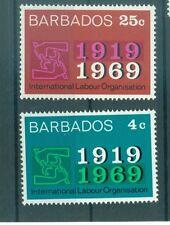 EMBLEMES - EMBLEMS BARBADOS 1969 ILO 50th Anniversary