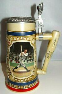 "Babe Ruth New York Yankees ""The Called Shot"" Bradford Museum Beer Stein Mug"
