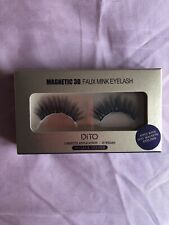 Dito Magnetic 3D Faux Mink Eyelashes 15 Wears No Glue Needed Nib Fluffy Dramatic