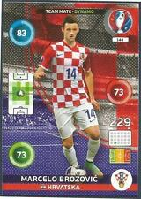 PANINI EURO 2016 ADRENALYN XL CARD- #144-HRVATSKA-CROATIA-MARCELO BROZOVIC