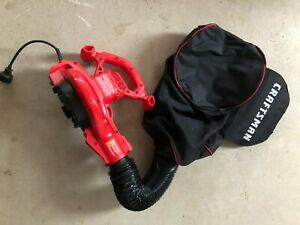 CRAFTSMAN 12-Amp 450-CFM 260-MPH Corded Electric Leaf Blower (Vacuum Kit Include