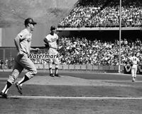 MLB 1963 World Series Mickey Mantle Homering Off Sandy Koufax 8 X 10 Photo Pic