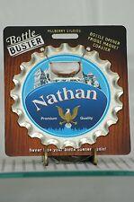 BOTTLE BUSTER NATHAN~COASTER~FRIDGE MAGNET~BOTTLE OPENER~NEW~FREE US SHIP~