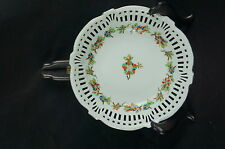"""Great Old ca. 1930 reticulated bowl / plate Germany 7"""" [Y7-W6-A9]"""