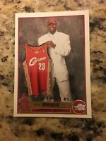 LEBRON JAMES Tops #1 Draft Pick 2003/2004 Rookie Card #221
