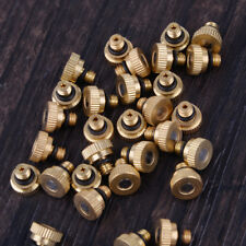 30x Brass Misting Nozzle Fogging Sprinkler Fit for Cooling System 0.012'' 10/24