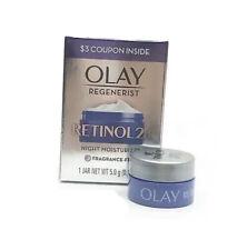 Olay Regenerist Retinol 24 Night Moisturizer Fragrance Free 1 Jar Net WT 5.0g