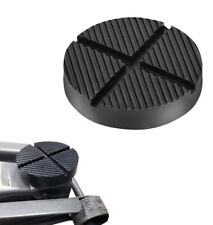 Cross Slotted Frame Rail Floor Jack Disk Rubber Pad for Pinch Weld Side JackPad (Fits: Renault)