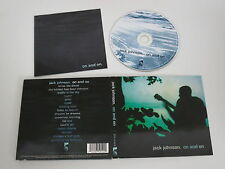 JACK JOHNSON/ON AND ON(THE MOONSHINE CONSPIRATION 075 012 2) CD ALBUM