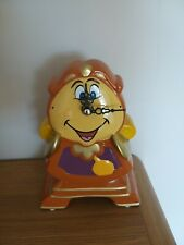 PRIMARK BEAUTY AND THE BEAST COGSWORTH WORKING CERAMIC CLOCK VGC
