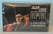 STAR TREK CCG Q Continuum Booster Display Box New Sealed C