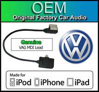 VW MDI iPod iPhone iPad lead cable, VW Golf MK7 media in lightning adapter