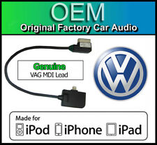 VW MDI iPod iPhone plomb, VW Polo Lightning Câble de connexion, Media in adaptateur