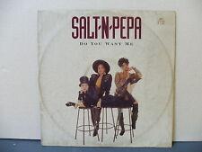 "RECORD 12""/45  'DO YOU WANT ME'  SALT-N-PEPA  1990"