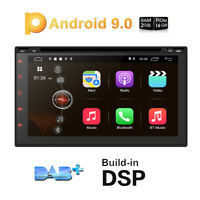 "7"" Android 9.0 Autoradio mit DVD GPS Navi DAB Bluetooth FM AM 4G OBD2 WiFi DAB+"