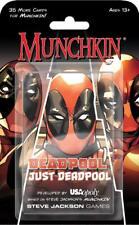 Munchkin Marvel Just Deadpool Card Game - Steve Jackson Games 8325