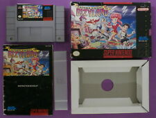 Cacoma Knight in Bizyland (Super Nintendo, 1993) with Box & Instruction Booklet