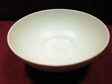 "SPAL PORCELANAS (PORTUGAL) ""LUZ"" MATTE WHITE 4 COUPE SOUP/CEREAL BOWLS"