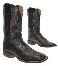 LUCCHESE Cowboy Boots 11 D Mens EXOTIC Alligator Leather Western Rodeo Boots USA