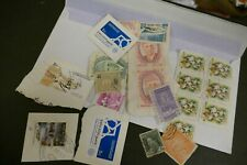 20 Middle East mixed used postage stamps philately kiloware postal