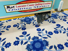 New Quilting Master IV XTI Computer Guided Full Frame Quilting Machine, 3000 spm