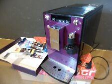 Melitta E955-101 Kaffeevollautomat Caffeo Lattea mit Milchdusche, lila / schwarz