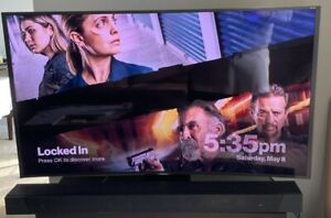 """Samsung 55"""" 4K SUHD curved screen TV Gray color Model UN55-JS9000-F ,barely used"""